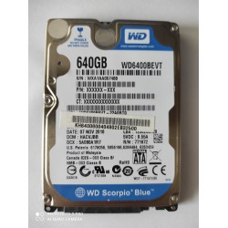 Dysk WD 640GB *0407